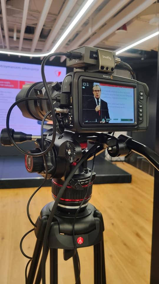 Wysokiej jakości streaming z konferencji prezesa PFR